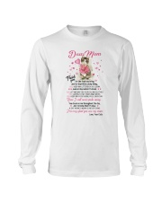 Cat Dear Mom Long Sleeve Tee thumbnail