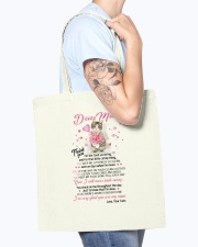 Cat Dear Mom Tote Bag accessories-tote-bag-BE007-front-model-02