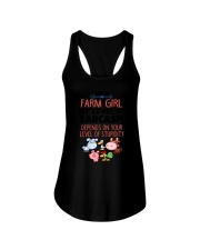 Farm Girl Ladies Flowy Tank thumbnail