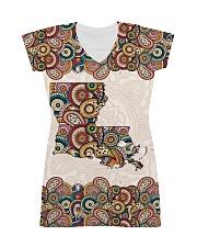 Louisiana Mandala Pattern T5TO All-Over Dress tile