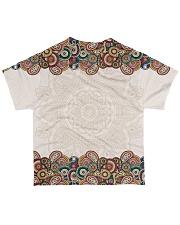 Louisiana Mandala Pattern T5TO All-over T-Shirt back