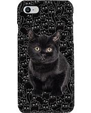 Black Cat Awesome Phone Case thumbnail