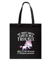 Always Trouble Tote Bag thumbnail