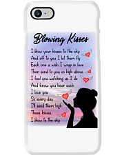 Family To My Angel Husband Blowing Kisses Phone Case thumbnail