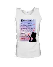 Family To My Angel Husband Blowing Kisses Unisex Tank thumbnail