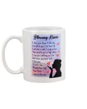 Family To My Angel Husband Blowing Kisses Mug back