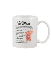 Family Mom Love You Always Mug front