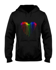 Dragonfly Heart Color T5tt Hooded Sweatshirt thumbnail