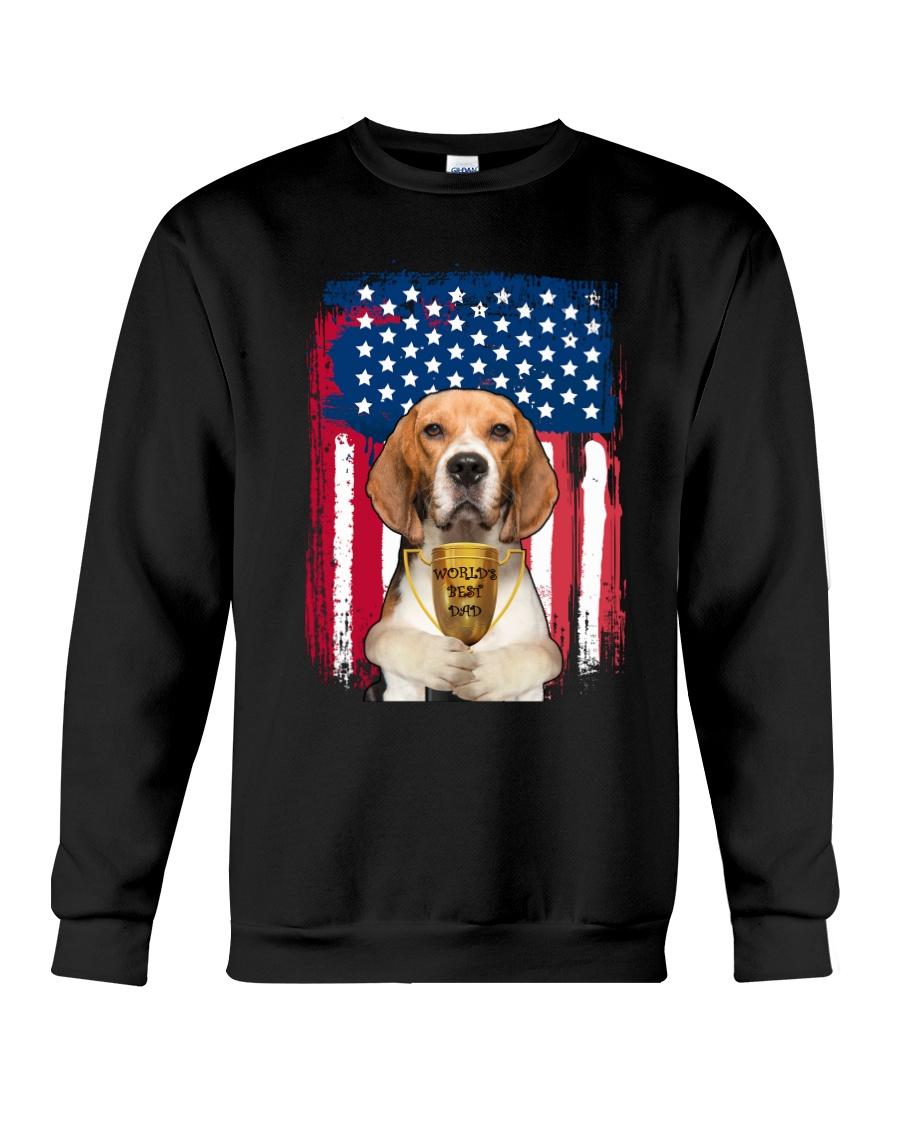 Beagle - World's best dad Crewneck Sweatshirt