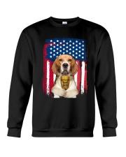 Beagle - World's best dad Crewneck Sweatshirt front