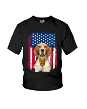 Beagle - World's best dad Youth T-Shirt thumbnail