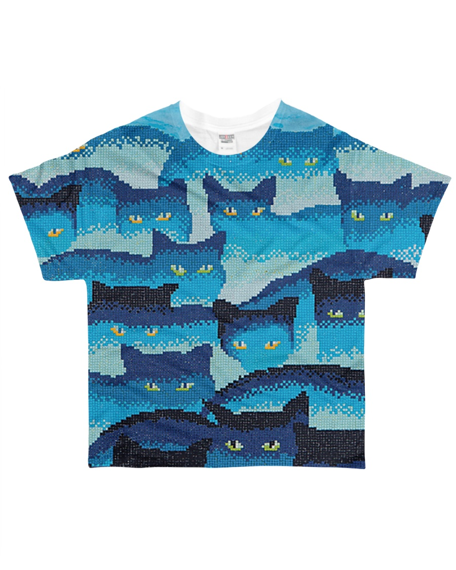 Cat Eyes All-over T-Shirt