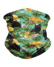 Tropical Pineapple Black Cat H31729 Neck Gaiter tile