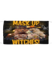 Poodle Witches T825 Cloth face mask front
