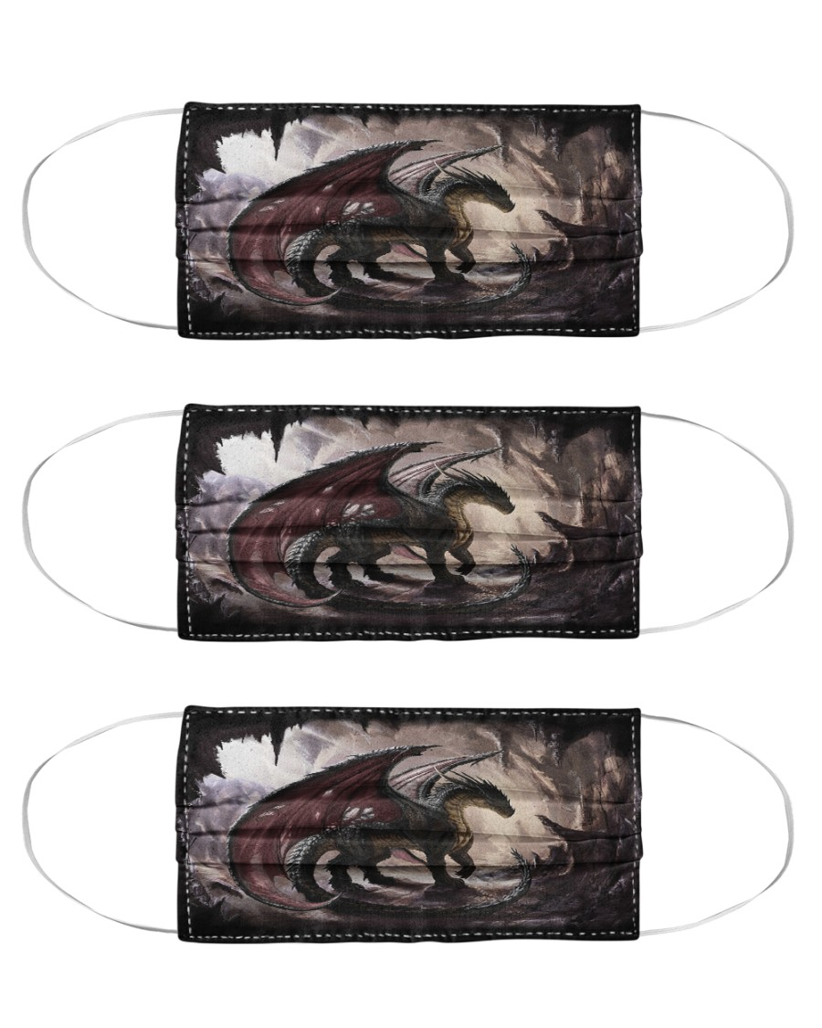 Dragon Beauty TJ1901 Cloth Face Mask - 3 Pack