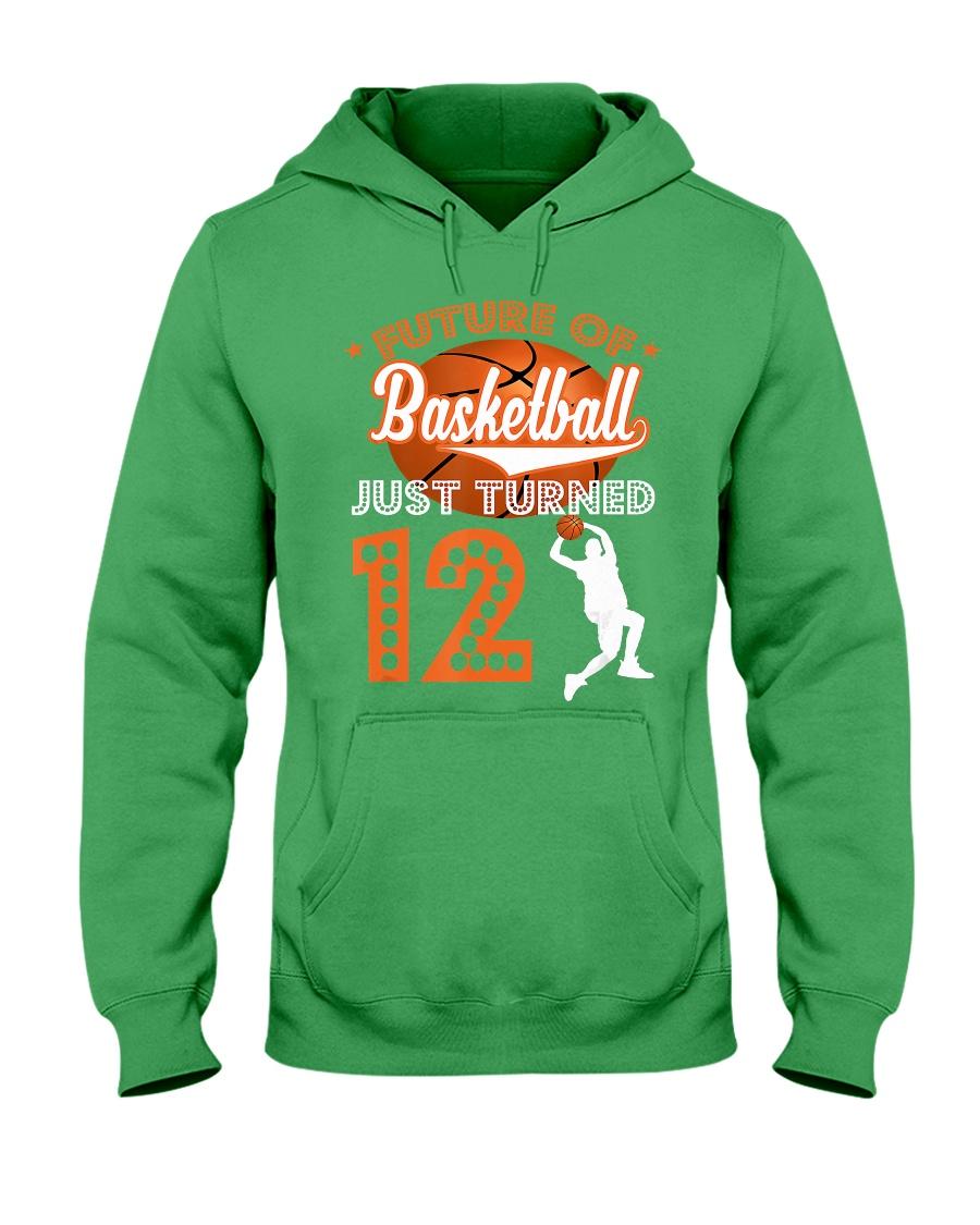 12th Birthday T Shirt - Fut Hooded Sweatshirt