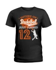 12th Birthday T Shirt - Fut Ladies T-Shirt thumbnail