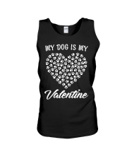 Dogs Valentines Day Gift My Dog Unisex Tank thumbnail