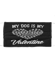 Dogs Valentines Day Gift My Dog Cloth face mask thumbnail