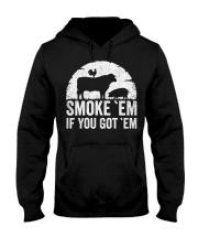 BBQ Smoker Accessory Pitmast Hooded Sweatshirt thumbnail