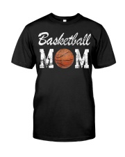 Basketball Mom Cute Novelty Classic T-Shirt front