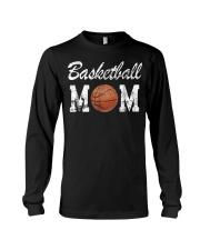 Basketball Mom Cute Novelty Long Sleeve Tee thumbnail