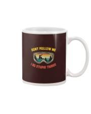 Don't Follow Me I Do Stupid Things V Mug thumbnail