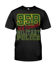 95B Old School Military Po Classic T-Shirt front