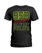 95B Old School Military Po Ladies T-Shirt tile