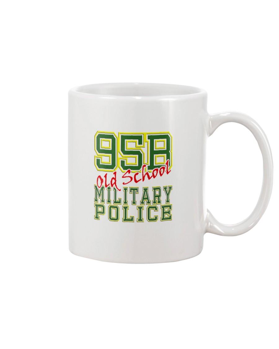 95B Old School Military Po Mug