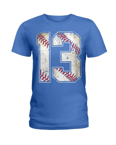 13 Baseball Jersey Number 13 Re