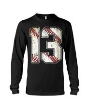 13 Baseball Jersey Number 13 Re Long Sleeve Tee thumbnail