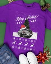 Merry Christmas JDM 32 Classic T-Shirt apparel-classic-tshirt-lifestyle-back-69