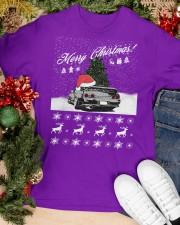 Merry Christmas JDM 32 Classic T-Shirt apparel-classic-tshirt-lifestyle-front-82