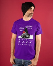 Merry Christmas JDM 32 Classic T-Shirt apparel-classic-tshirt-lifestyle-front-89