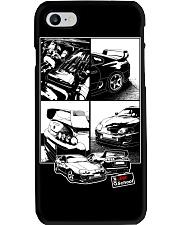 Supra car JDM White Frame Phone Case thumbnail