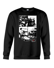 Supra car JDM White Frame Crewneck Sweatshirt thumbnail