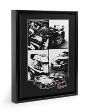 Supra car JDM White Frame 11x14 Black Floating Framed Canvas Prints thumbnail