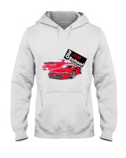 old school jdm - White Hooded Sweatshirt front