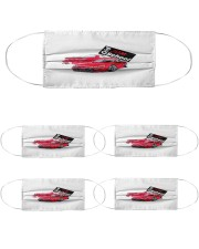 old school jdm - White Cloth Face Mask - 5 Pack thumbnail