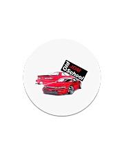 old school jdm - White Circle Magnet thumbnail