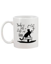 Cats and Books Mug back