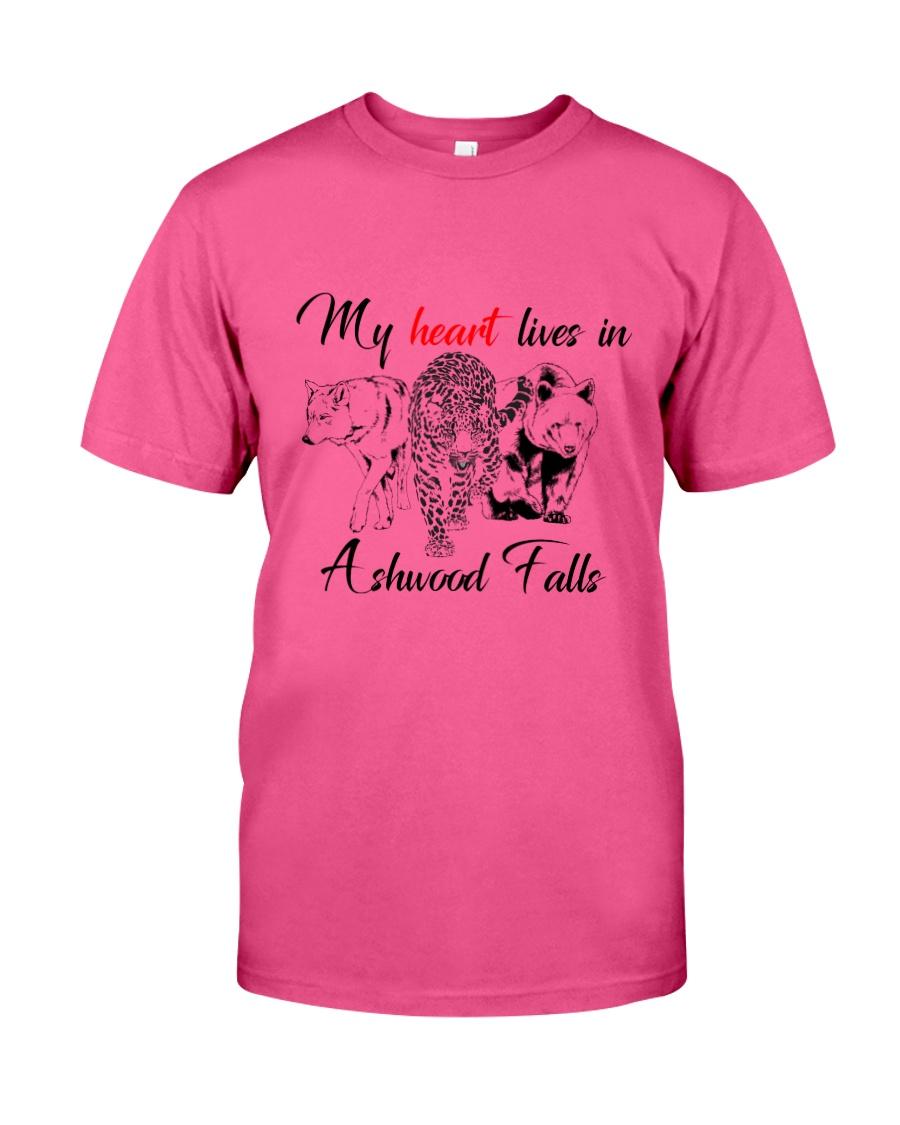 My Heart Lives in Ashwood Falls Classic T-Shirt