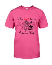 My Heart Lives in Ashwood Falls Classic T-Shirt tile