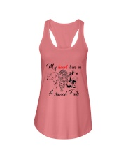 My Heart Lives in Ashwood Falls Ladies Flowy Tank tile