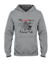 My Heart Lives in Ashwood Falls Hooded Sweatshirt tile