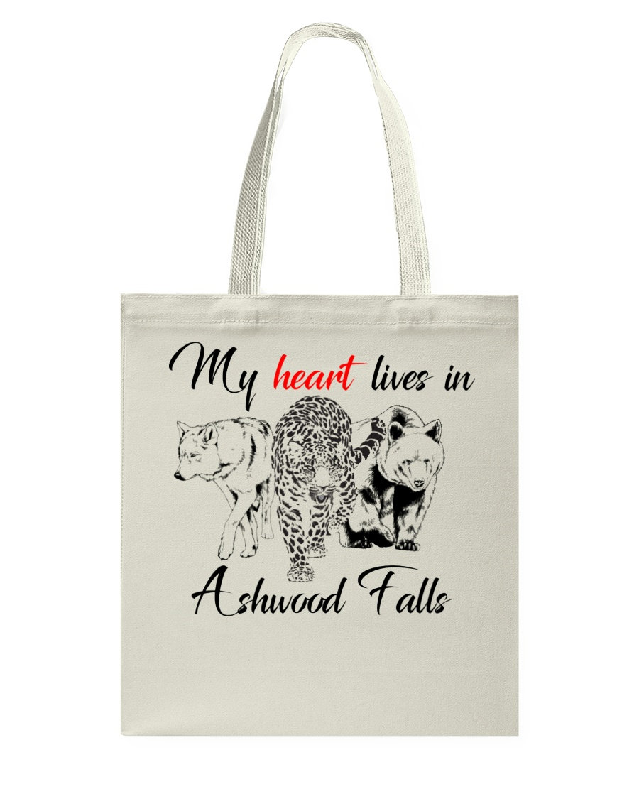 My Heart Lives in Ashwood Falls Tote Bag