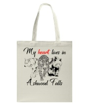 My Heart Lives in Ashwood Falls Tote Bag tile