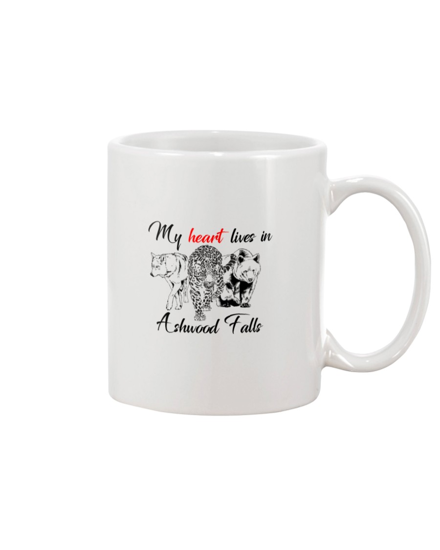 My Heart Lives in Ashwood Falls Mug