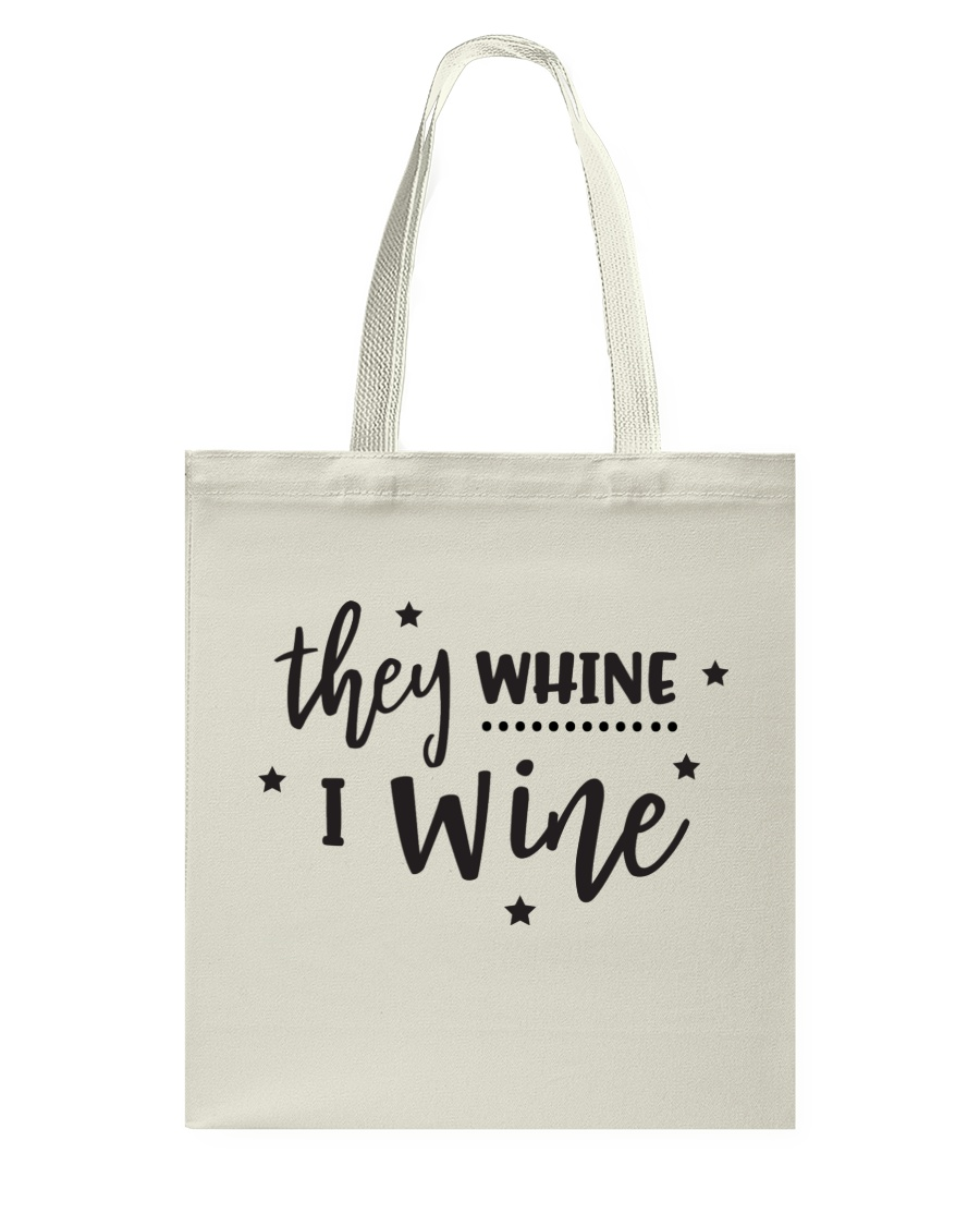 I Wine in black Tote Bag